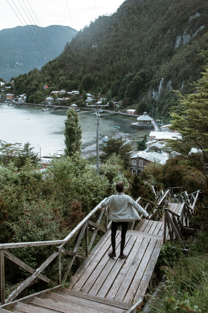 Caleta Tortel, Carretera Austral Chile