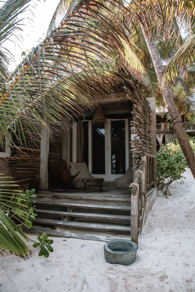 Room at Nomade hotel Tulum