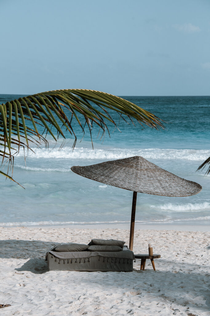 best areas to stay in Tulum, tulum beach