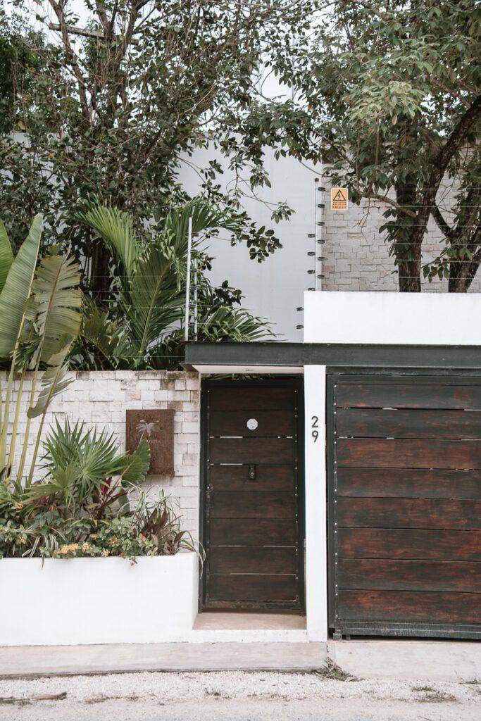 front gate in La Veleta Mexico