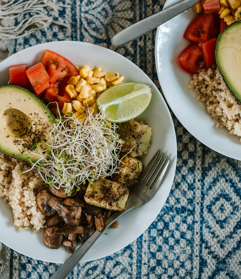 vegan buddha bowl recipe ideas