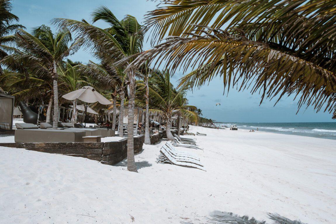Best time to visit Tulum- tulum beach