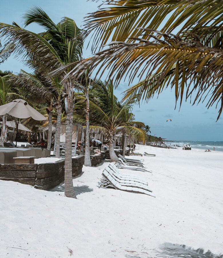 Best time to visit Tulum- tulum beach