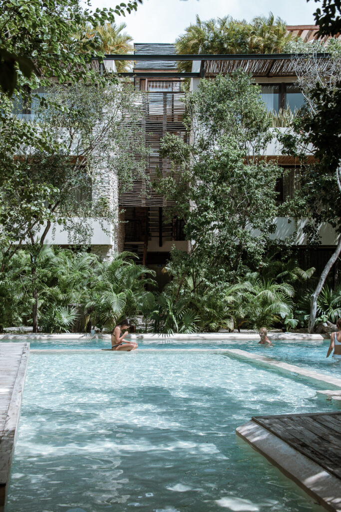 Tulum hotel pool