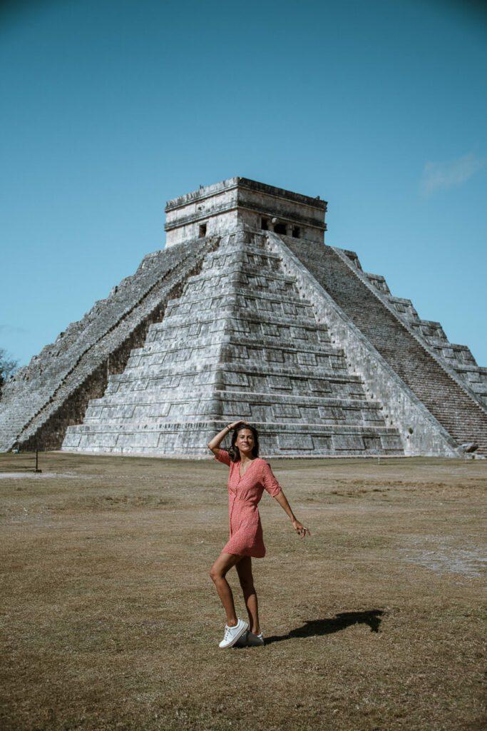 visiting Chichen Itza Mexico