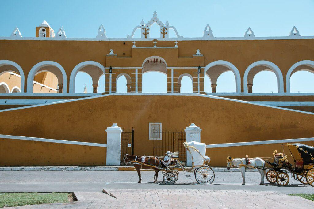 San Antonio convent in Izamal