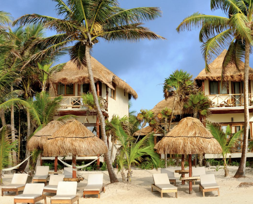 where to stay in Tulum Rosa del Viento