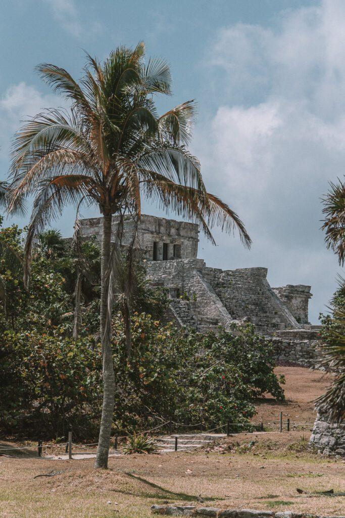 Main pyramid at the Tulum ruins