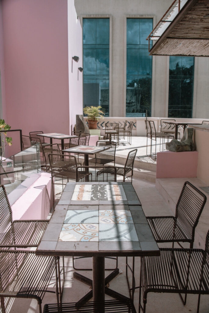 ROSAS & XOCOLATE boutique hotel rooftop