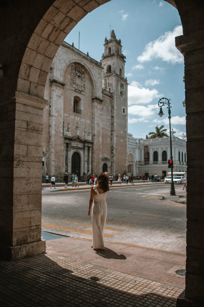 Merida Cathedral, best things to do in Merida Mexico