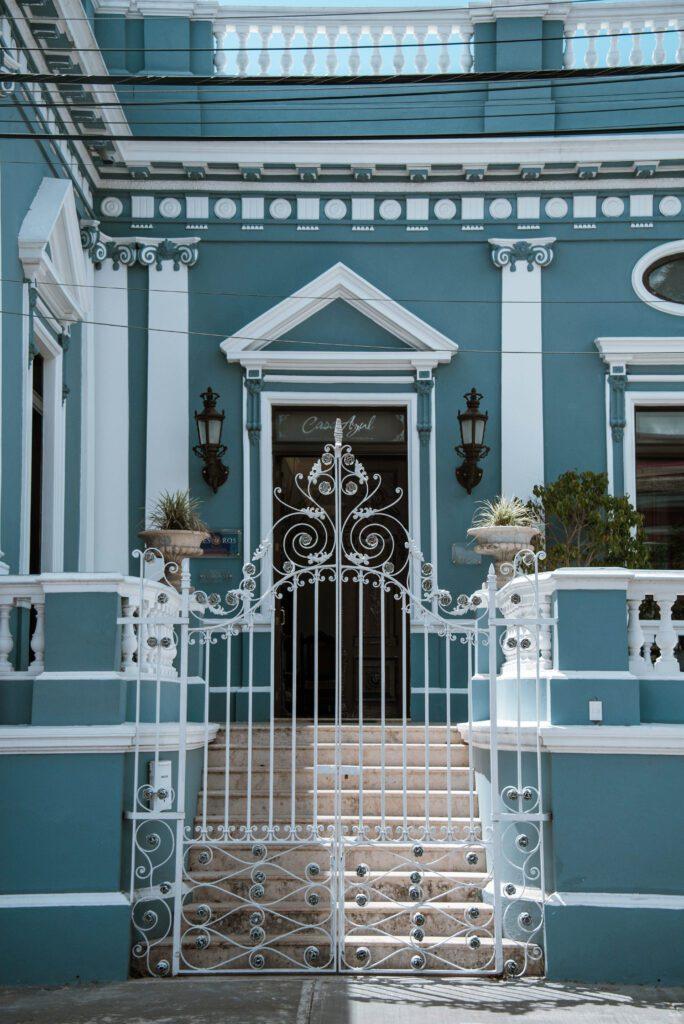 Casa Azul Monumento Historico Merida