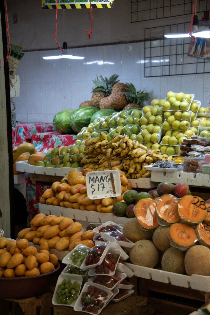 Mercado Galvez, market in Merida, Mexico