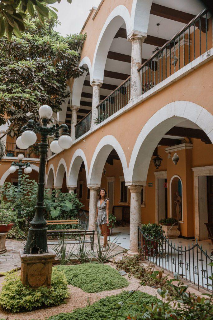 woman at Hotel Caribe Merida