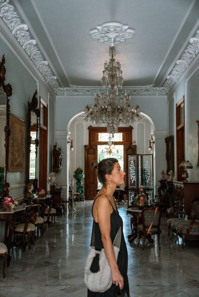 Inside of a Merida mansion