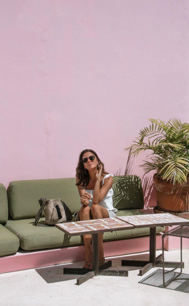 Woman at ROSAS & XOCOLATE hotel Merida