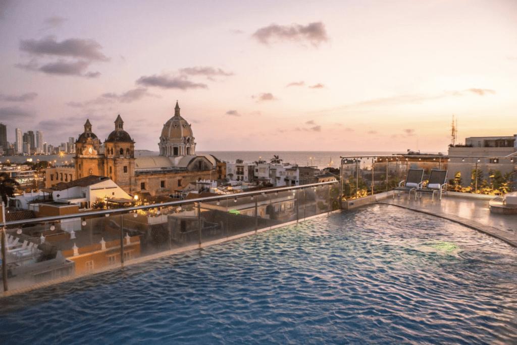 Cartagena hotel rooftop