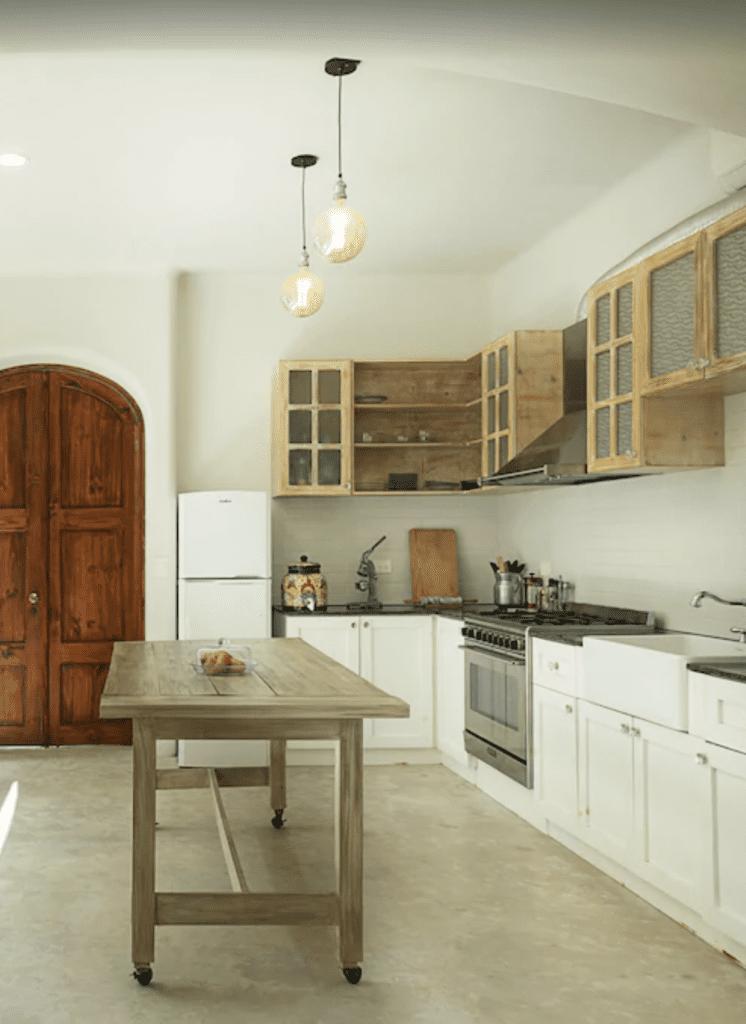 Tulum villa kitchen