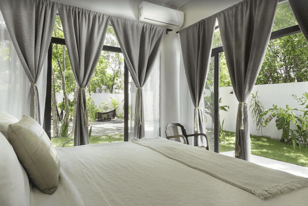 luxury villa Tulum bedroom