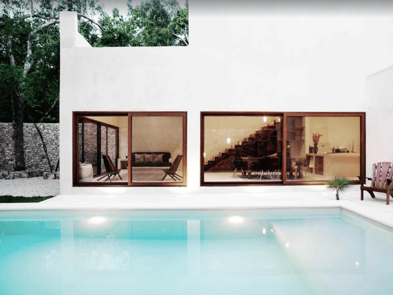 Minimal luxury tulum villa