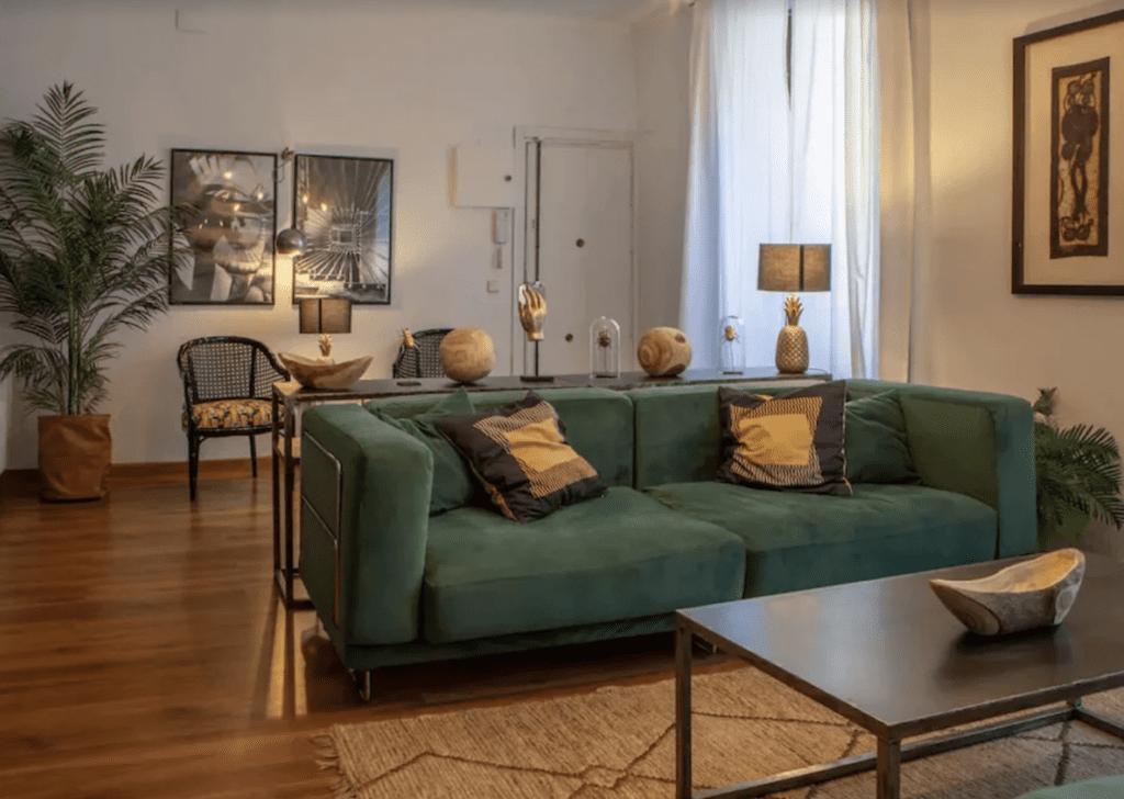 luxury apartment rental in Madrid