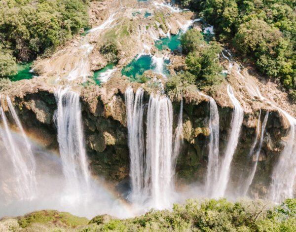 Tamul Waterfall Huasteca Potosina Mexico