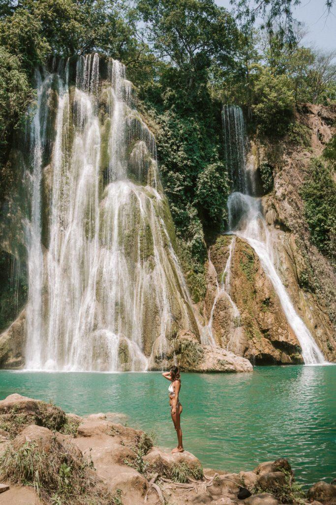 Minas Viejas Waterfall Huasteca Potosina