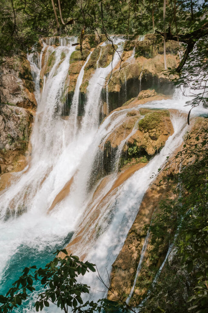 El Meco waterfall Huasteca Potosina