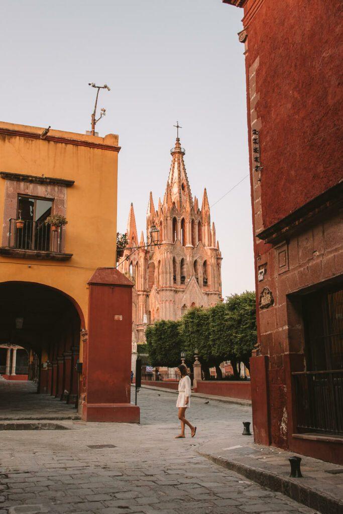 Main square in San Miguel de Allende