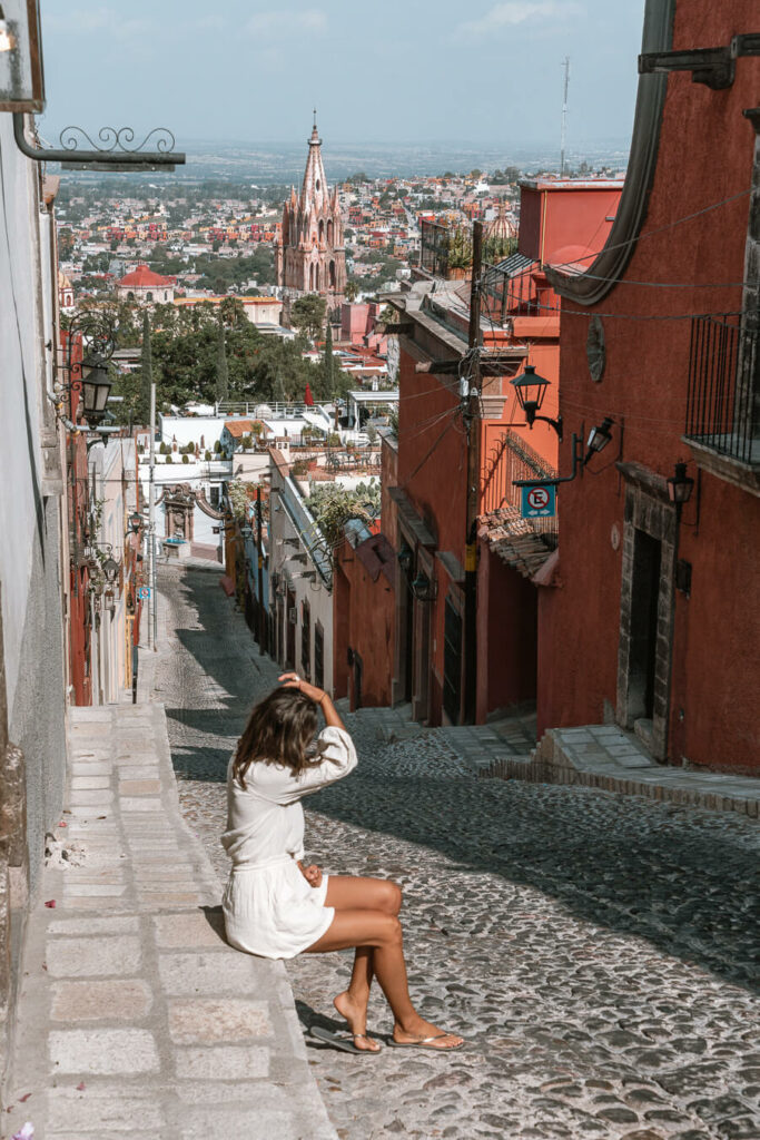 Woman on the streets of San Miguel de Allende