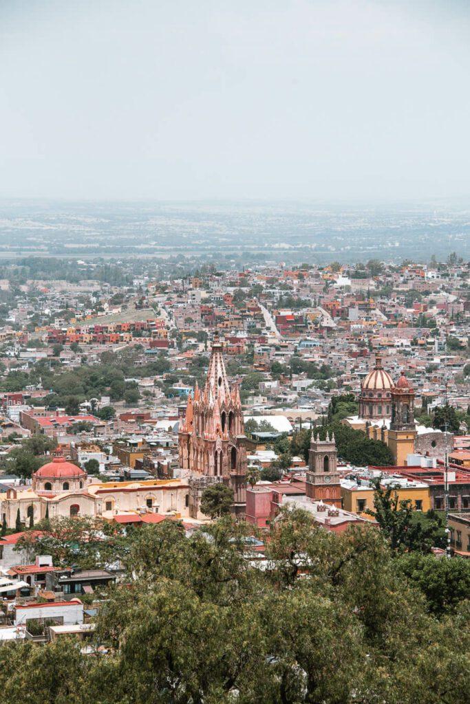 View from Mirador in San Miguel de Allende
