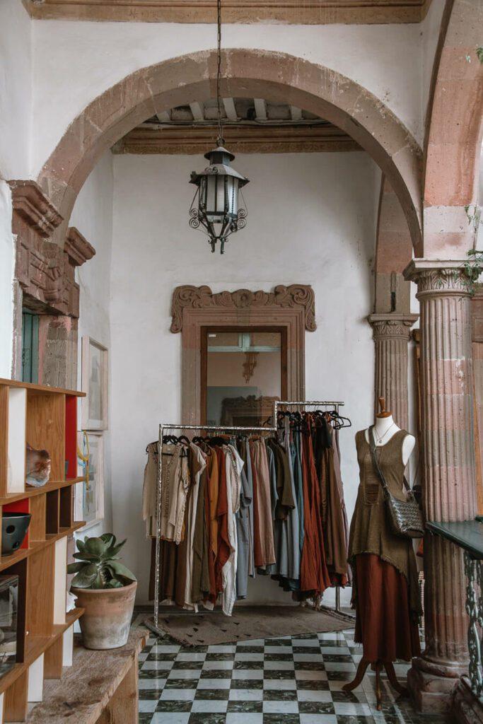 Boutique in San Miguel de Allende