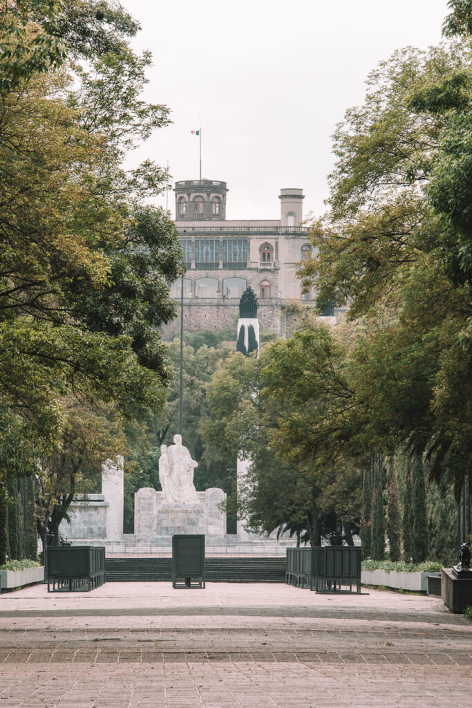 Chapultepec Castle and Forest Mexico City