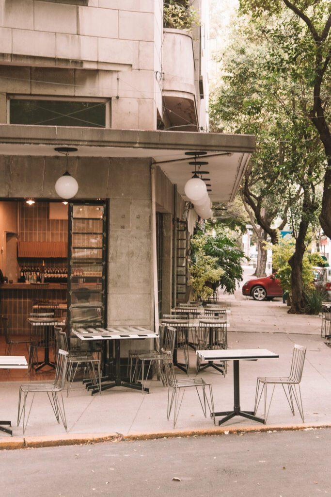 Streets of Roma Norte Mexico City