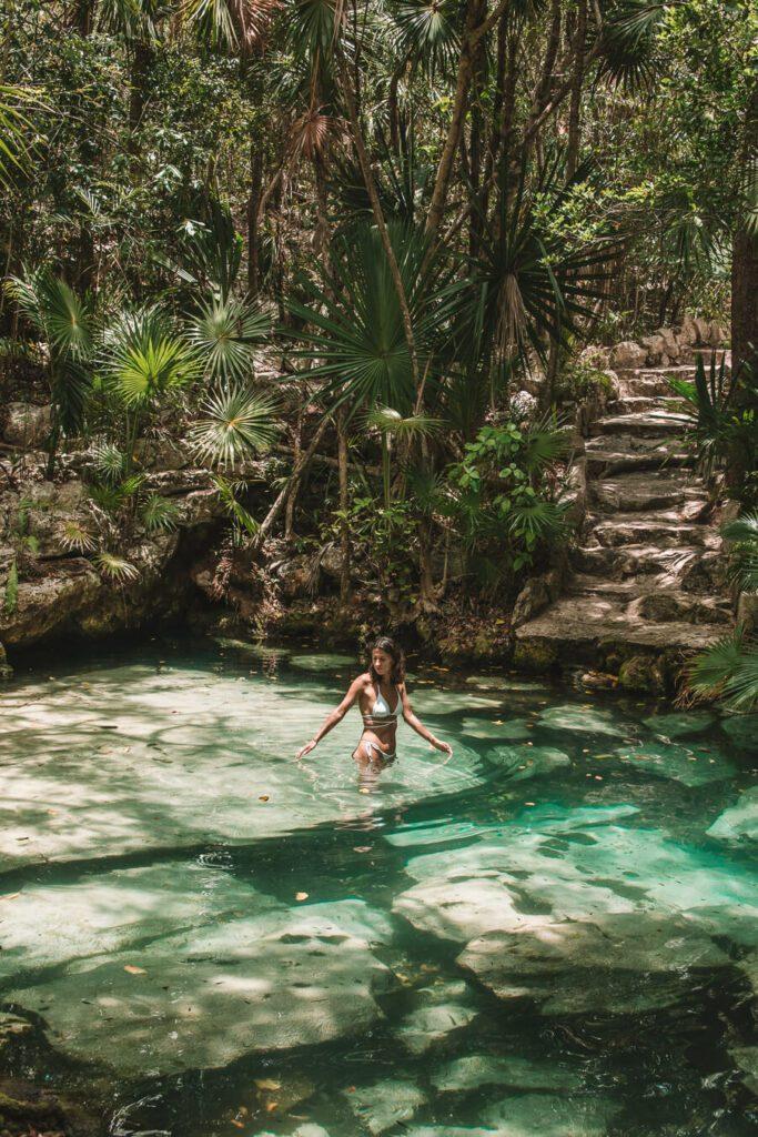 cenote azul, the best cenotes in tulum