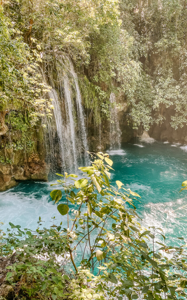 Puente de Dios waterfall