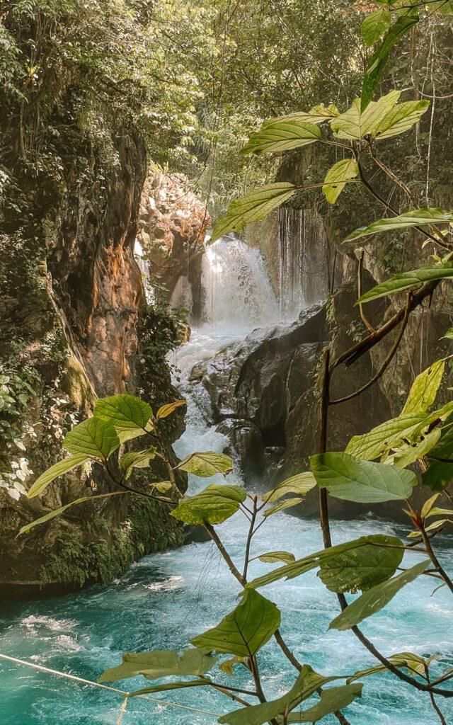 Puente de Dios waterfall Huasteca Potosina