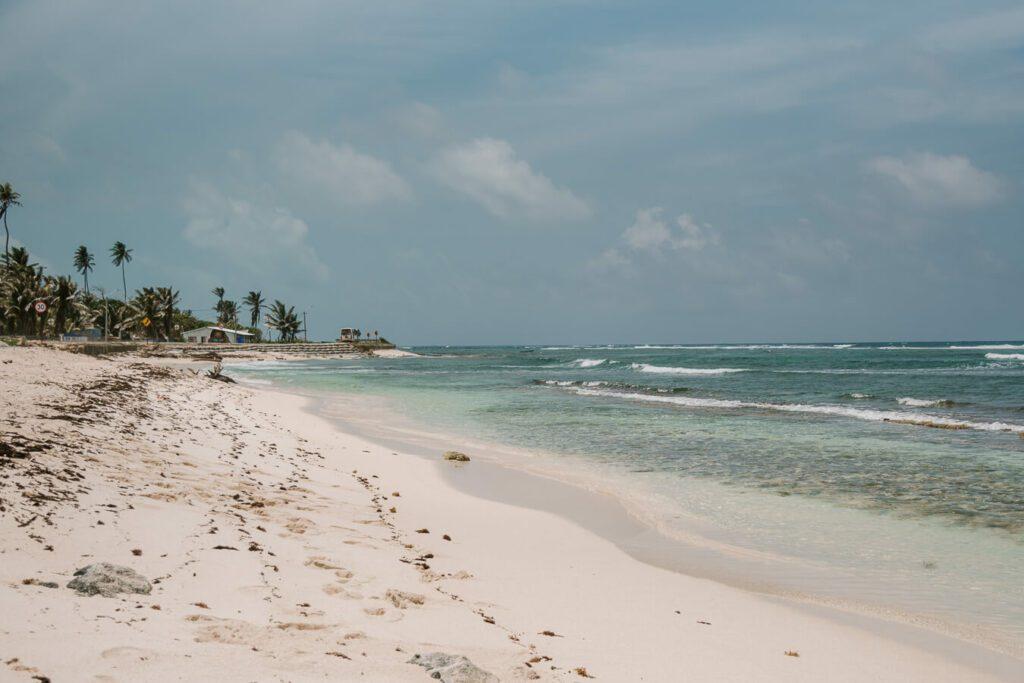 San Andres clear beach