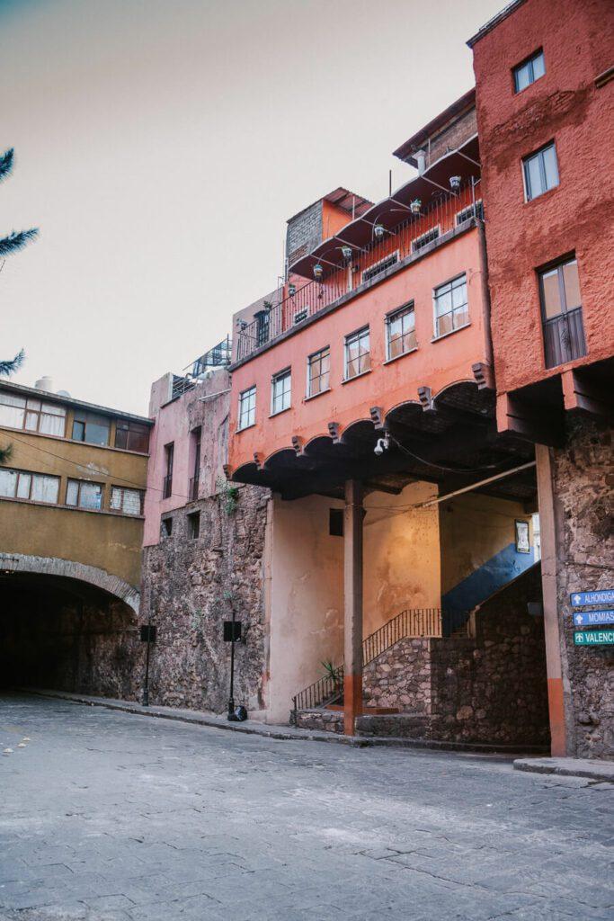 Guanajuato street and tunnel