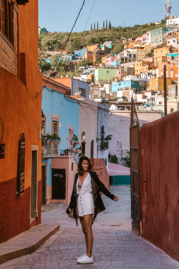 woman in Guanajuato Mexico