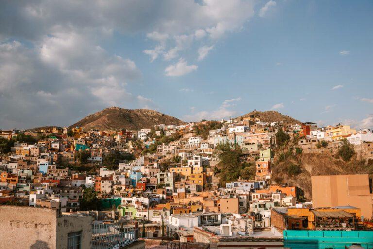 view of guanajuato mexico
