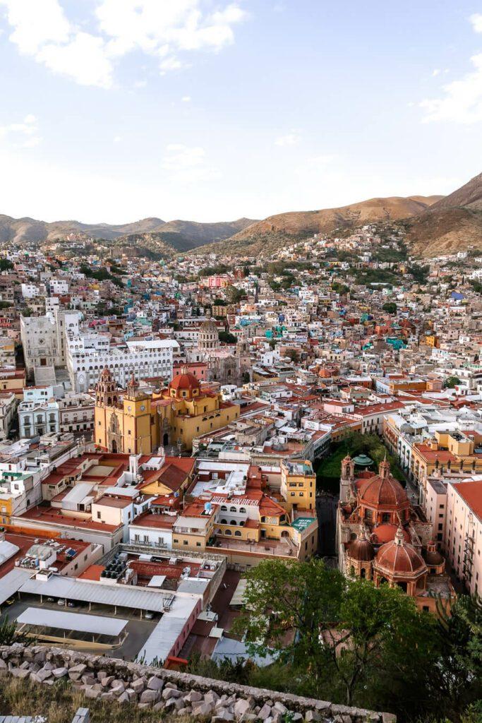 View from Pipila Monument, Guanajuato Mexico
