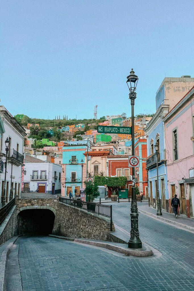 street in Guanajuato mexico