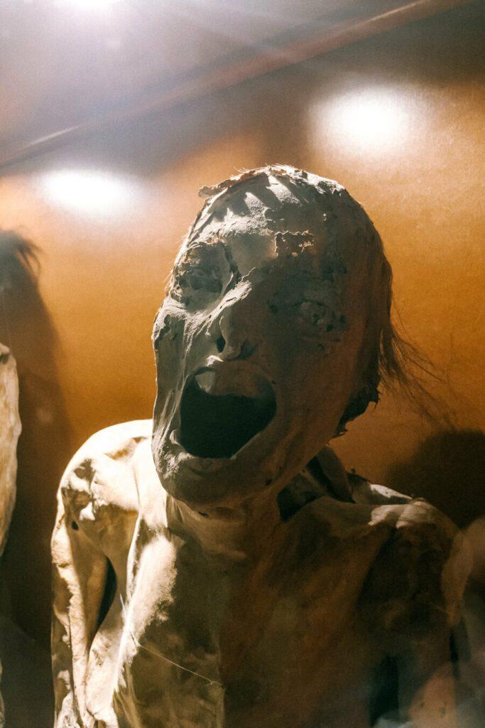 Guanajuato preserved mummy