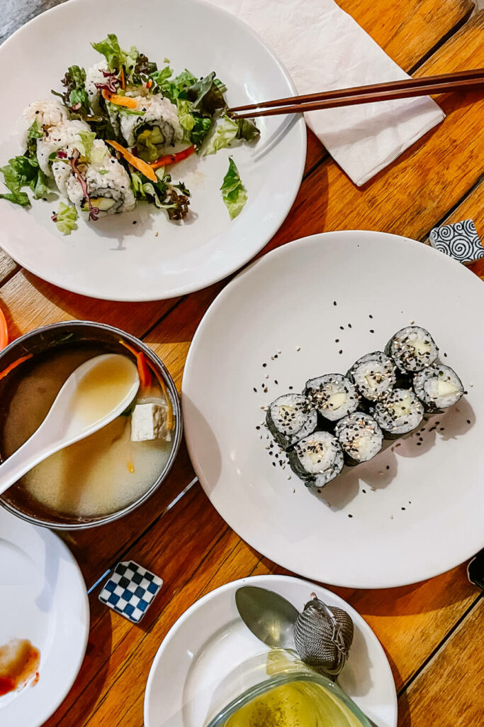 Sushi and japanese food in mexico