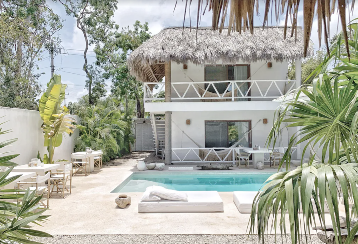 Luxury villas in Tulum mexico