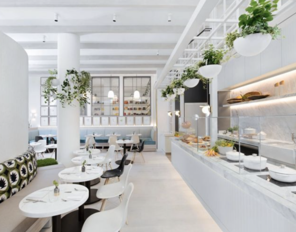 wellness centre cafe and restaurant in new york