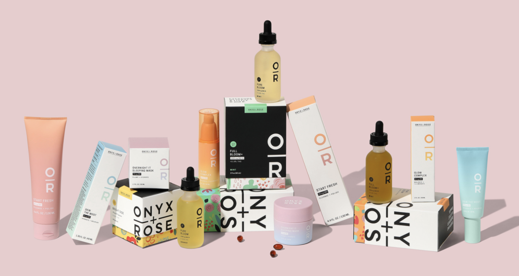 Onyx + Rose CBD oil and products